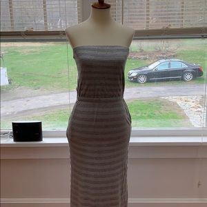 White House Black Market Maxi Sleeveless Dress